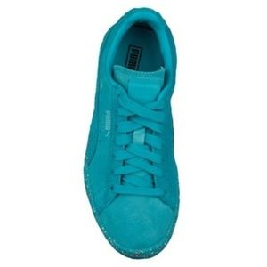 Men's Teal Blue Puma Sneakers | Athletic Shoes